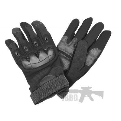 Bulldog Military Gloves Black