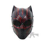 black panther mask airsoft 1