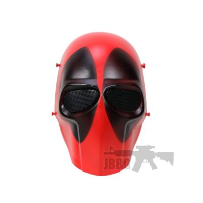 Deadpool Style Airsoft Mask