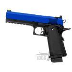 hi capa 51 pistol raven 1 blue