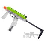 Zombie Hunter Elminator Can Fl Green Slide Airsoft Gun