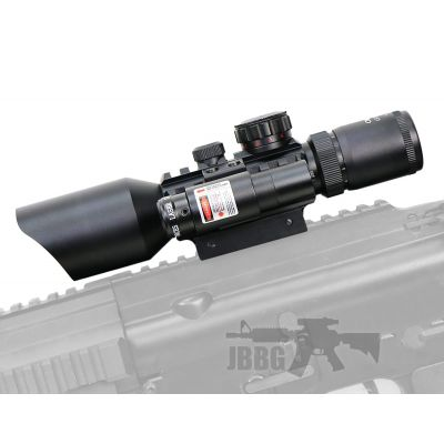 M9 LS3-10X42E Tactical Rifle Scope and Laser Unit