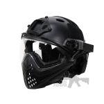 av airsoft mask and helmit 1