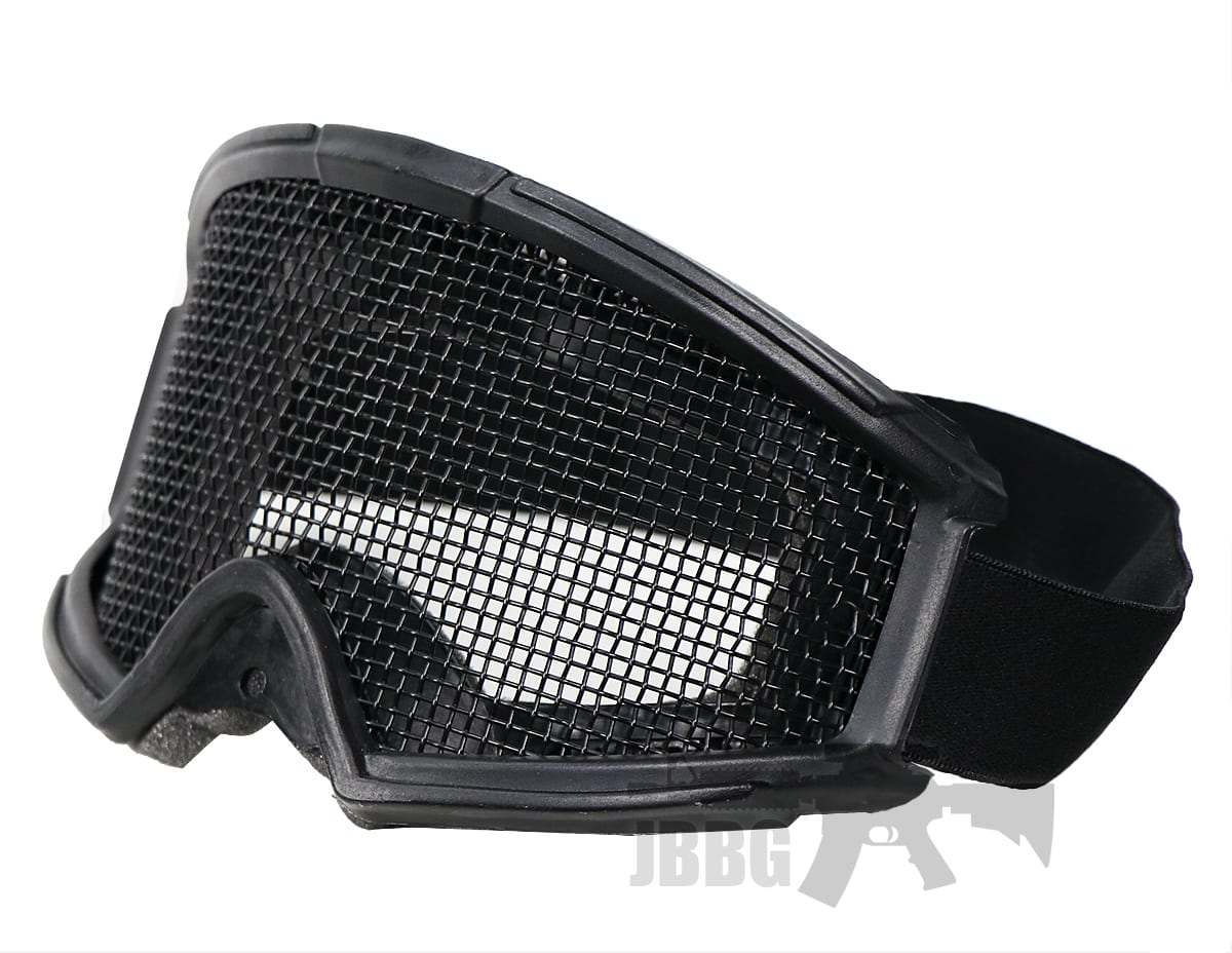 transformer foundation goggles with steel mesh
