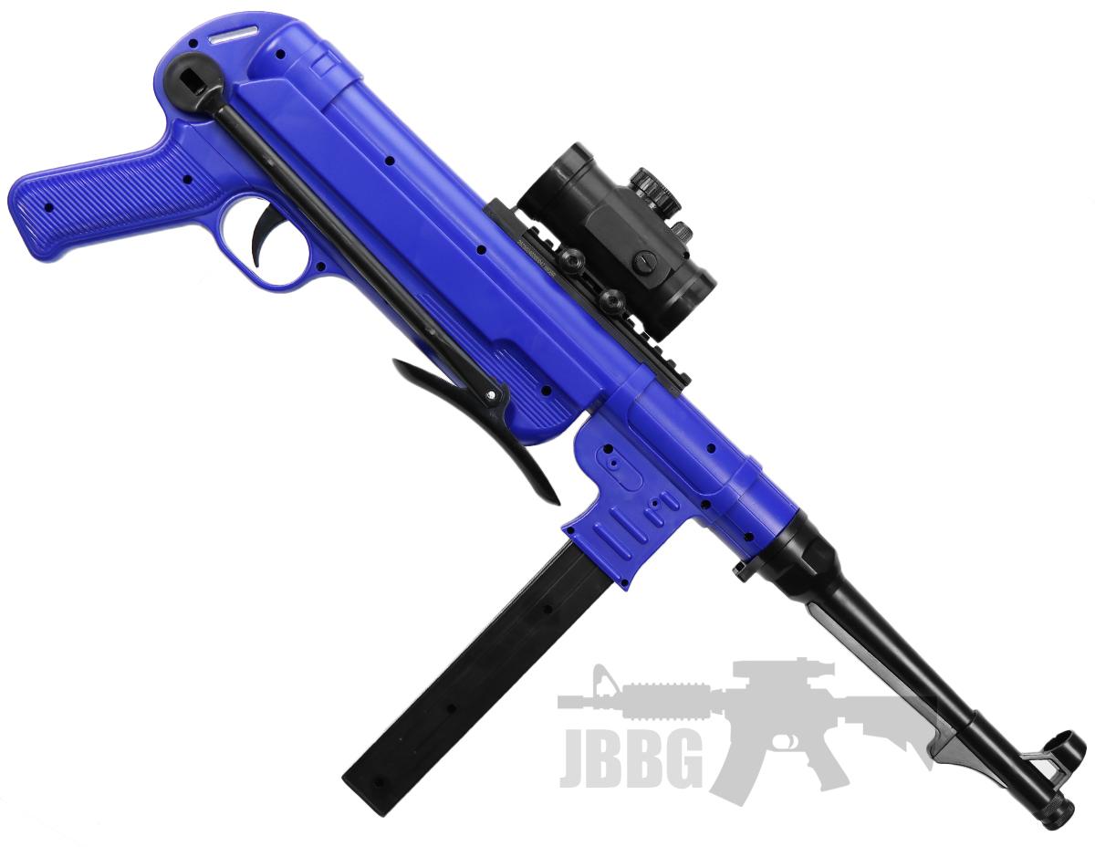 German MP40 BB Gun – BLUE