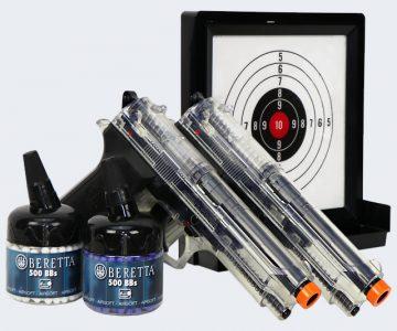 airsoft bb pistol gun set
