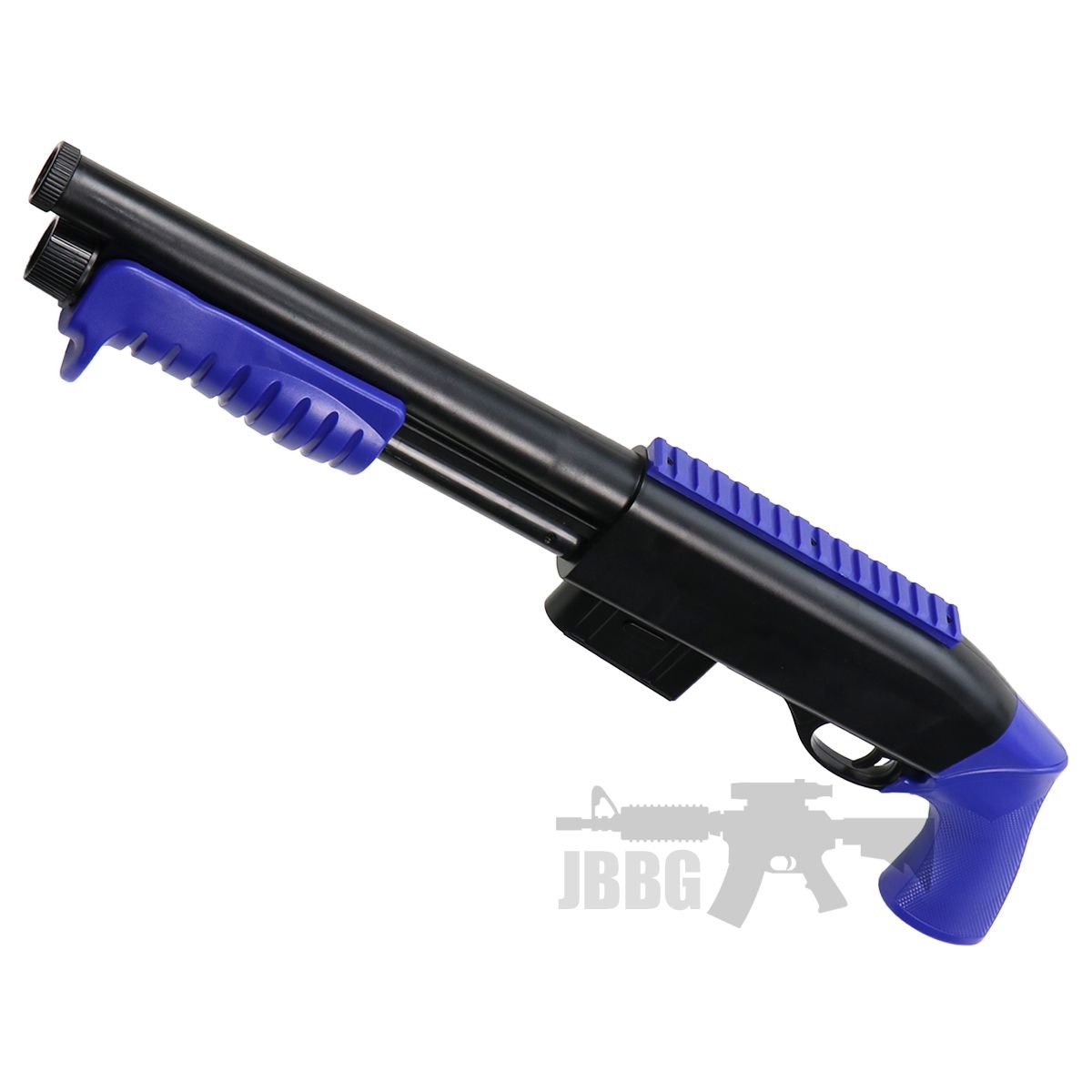 airsoft shotgun 33 blue
