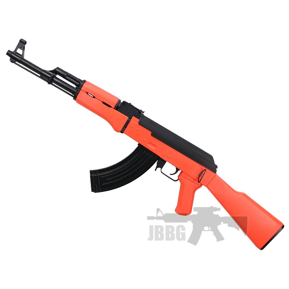 ak47 orange airsoft gun at jbbg 2