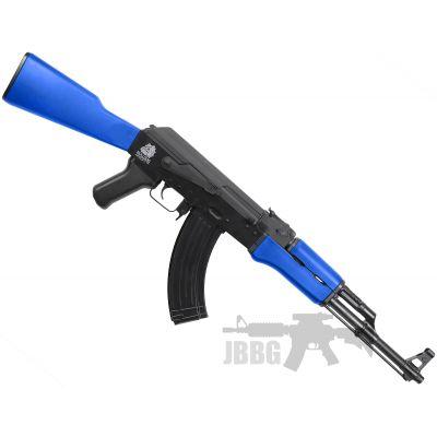 bulldog ak47 1 blue airsoft gun