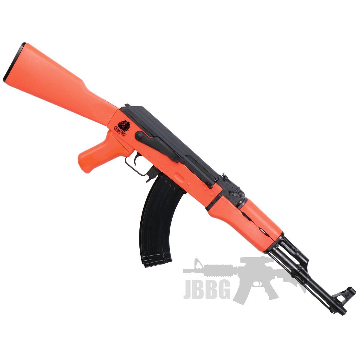 bulldog ak47 1 orange airsoft gun