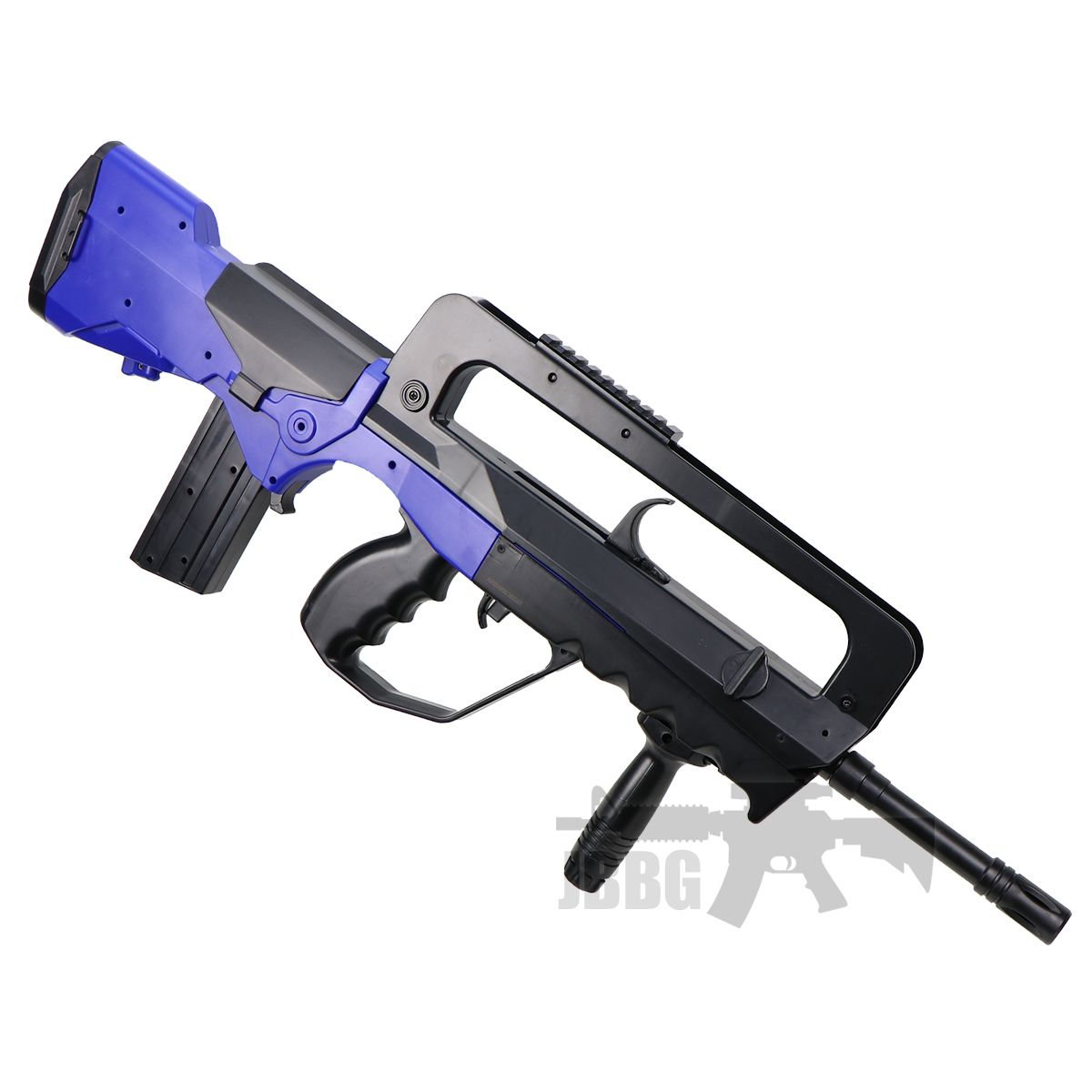 famas airsoft gun blue 2