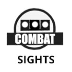 combat white dot sights