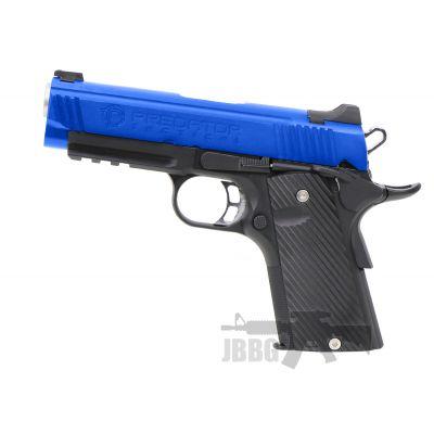 king arms 1911 gas magazine airsoft gun pitol blue