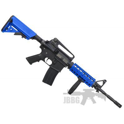 king arms m2 ellet 1 airsoft gun blue
