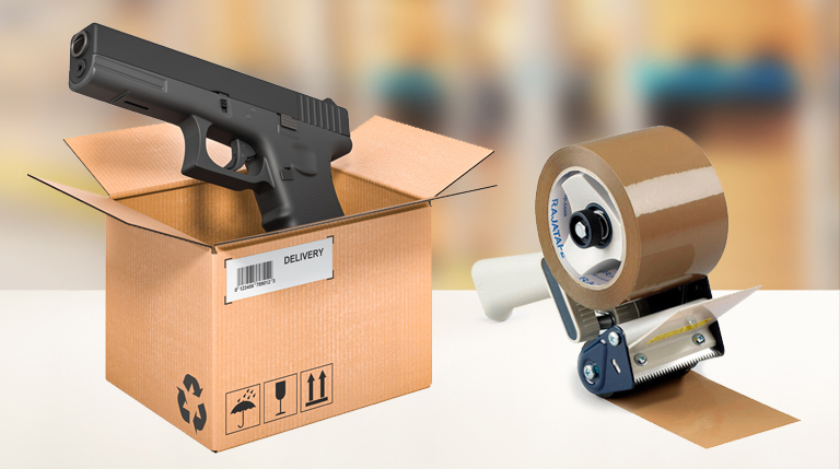 airsoft guns delivery