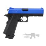 hi cap pistol blue airsoft 1