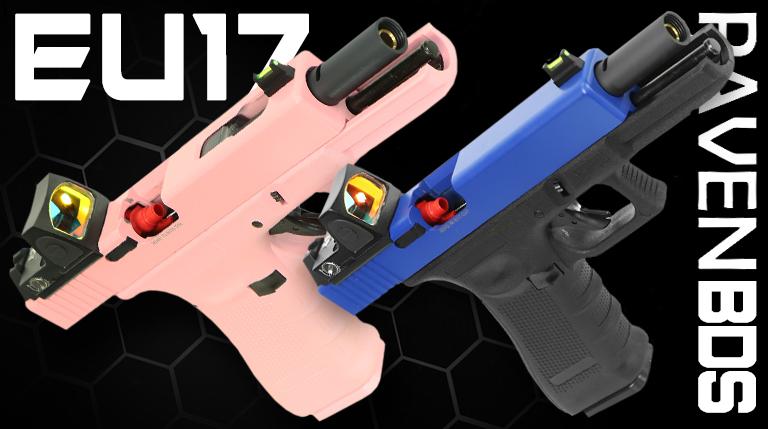 raven airsoft pistols on sale at just bb guns uk