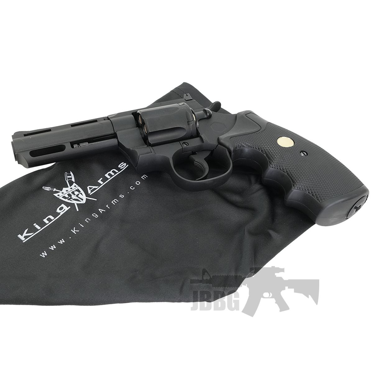 King Arms Co2 Airsoft Revolver 1