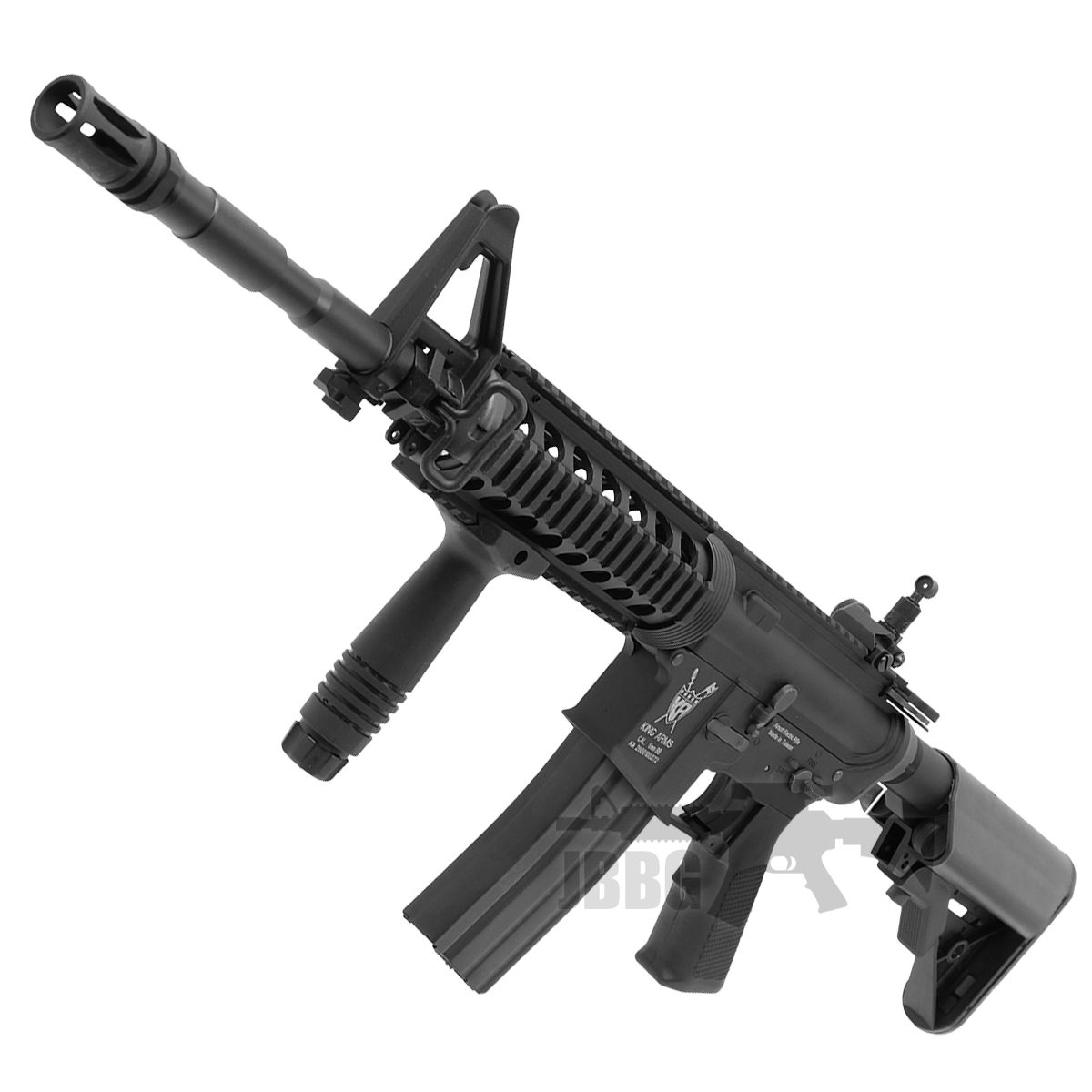 King Arms M4 RIS with Mosfet Advance Airsoft Gun 2