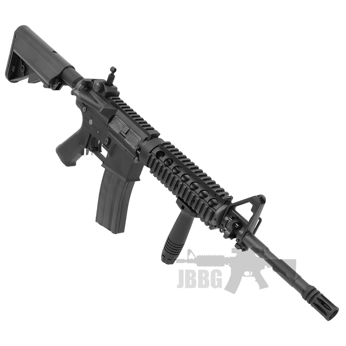 King Arms M4 RIS with Mosfet Advance Airsoft Gun 4