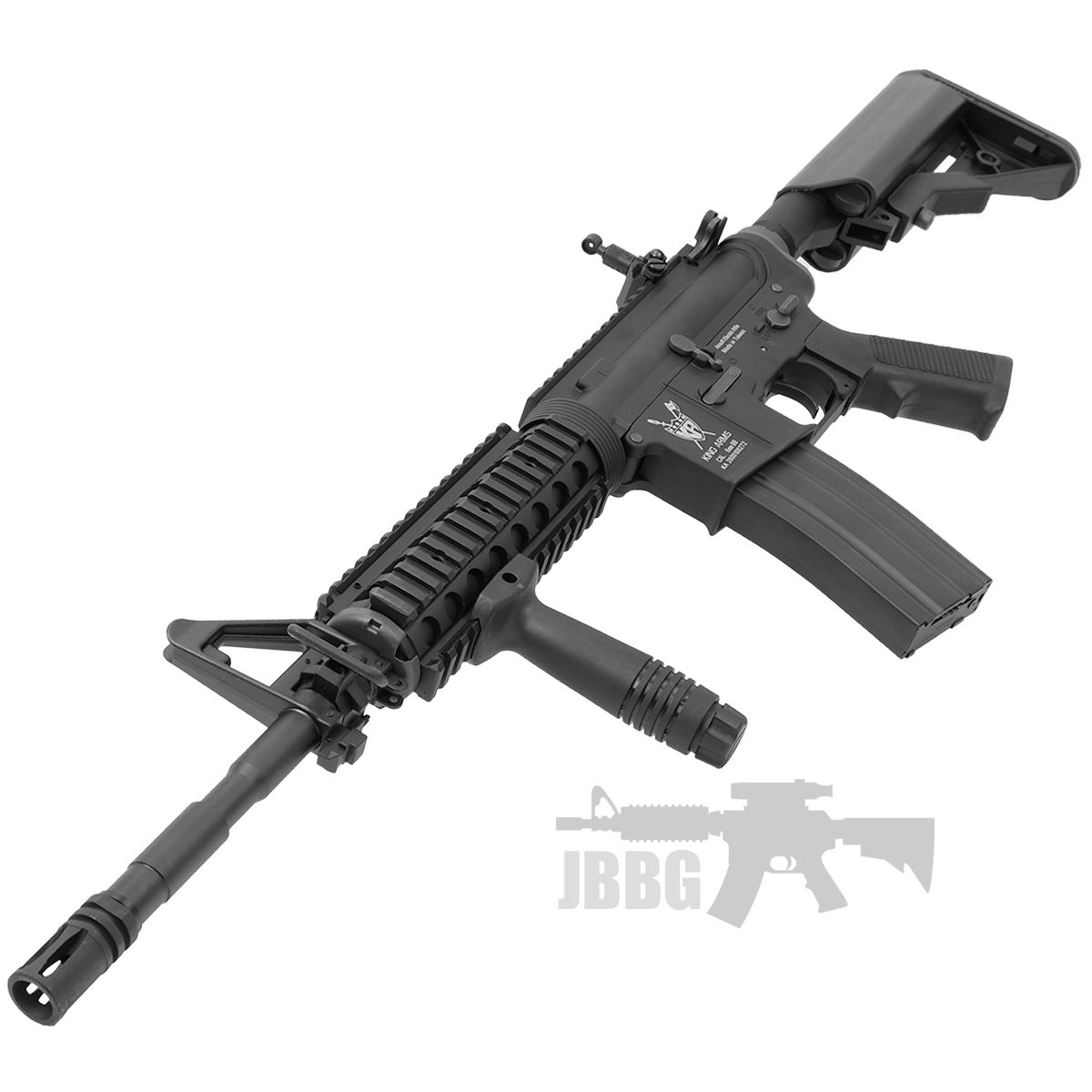 King Arms M4 RIS with Mosfet Advance Airsoft Gun 5