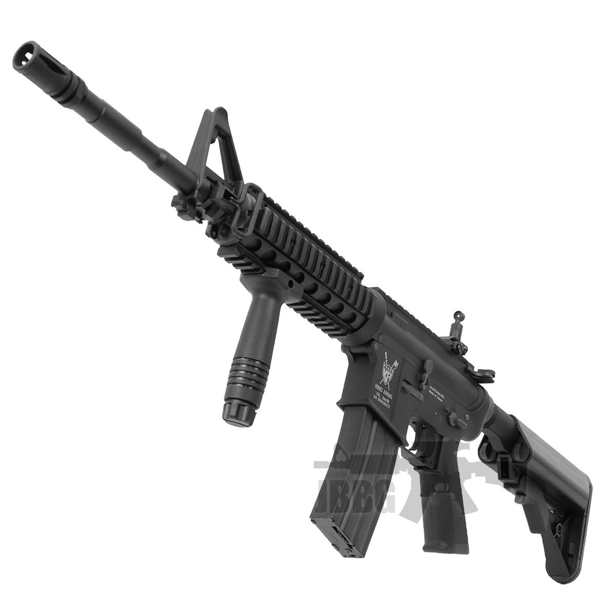King Arms M4 RIS with Mosfet Advance Airsoft Gun 6