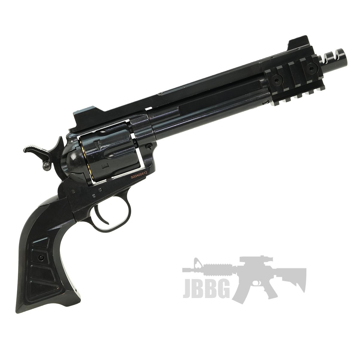King Arms SAA 45 Devil Gas Airsoft Revolver 1