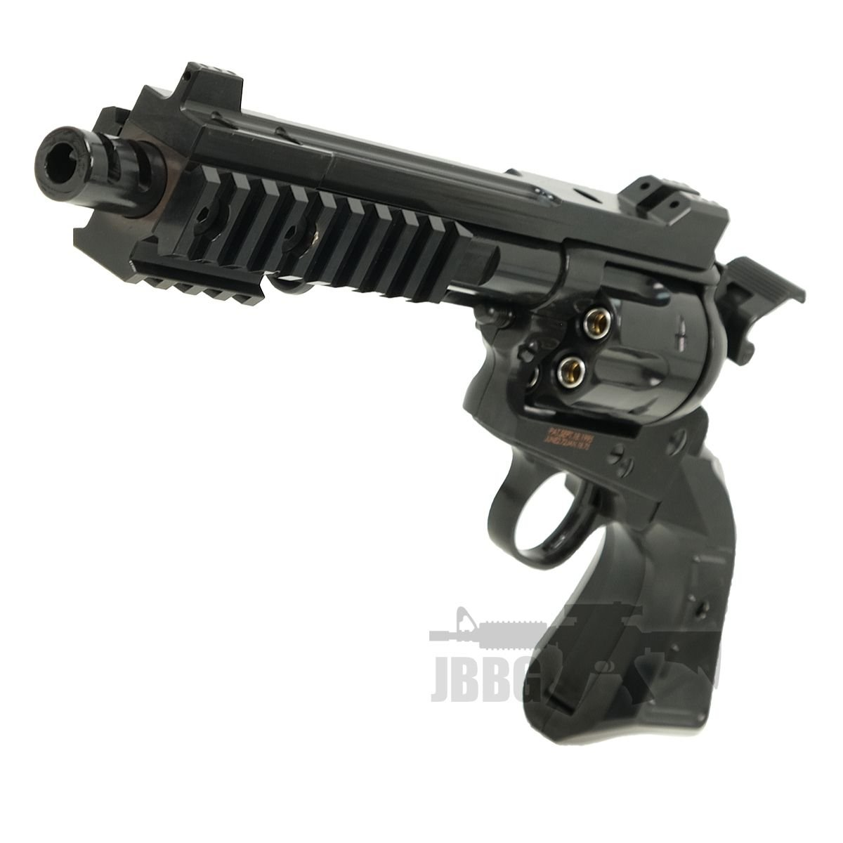 King Arms SAA 45 Devil Gas Airsoft Revolver 4