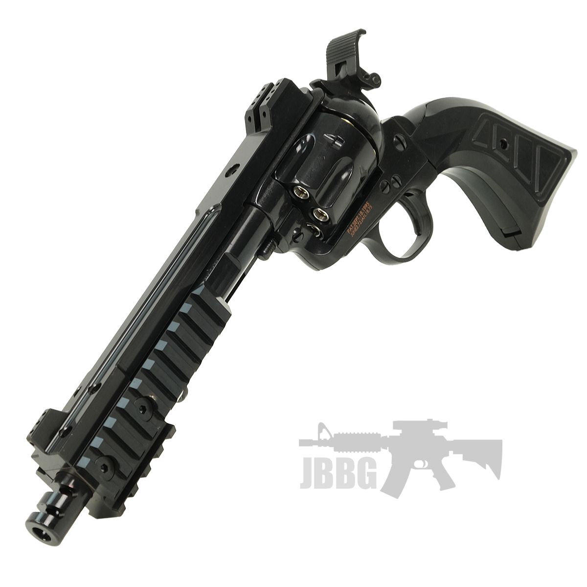 King Arms SAA 45 Devil Gas Airsoft Revolver 44