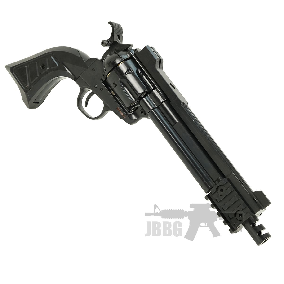 King Arms SAA 45 Devil Gas Airsoft Revolver 66