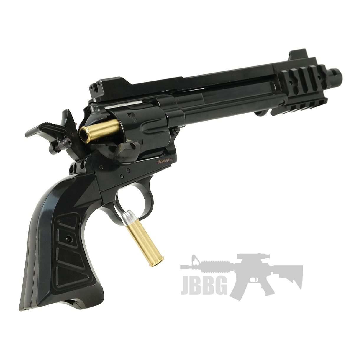 King Arms SAA 45 Devil Gas Airsoft Revolver 77