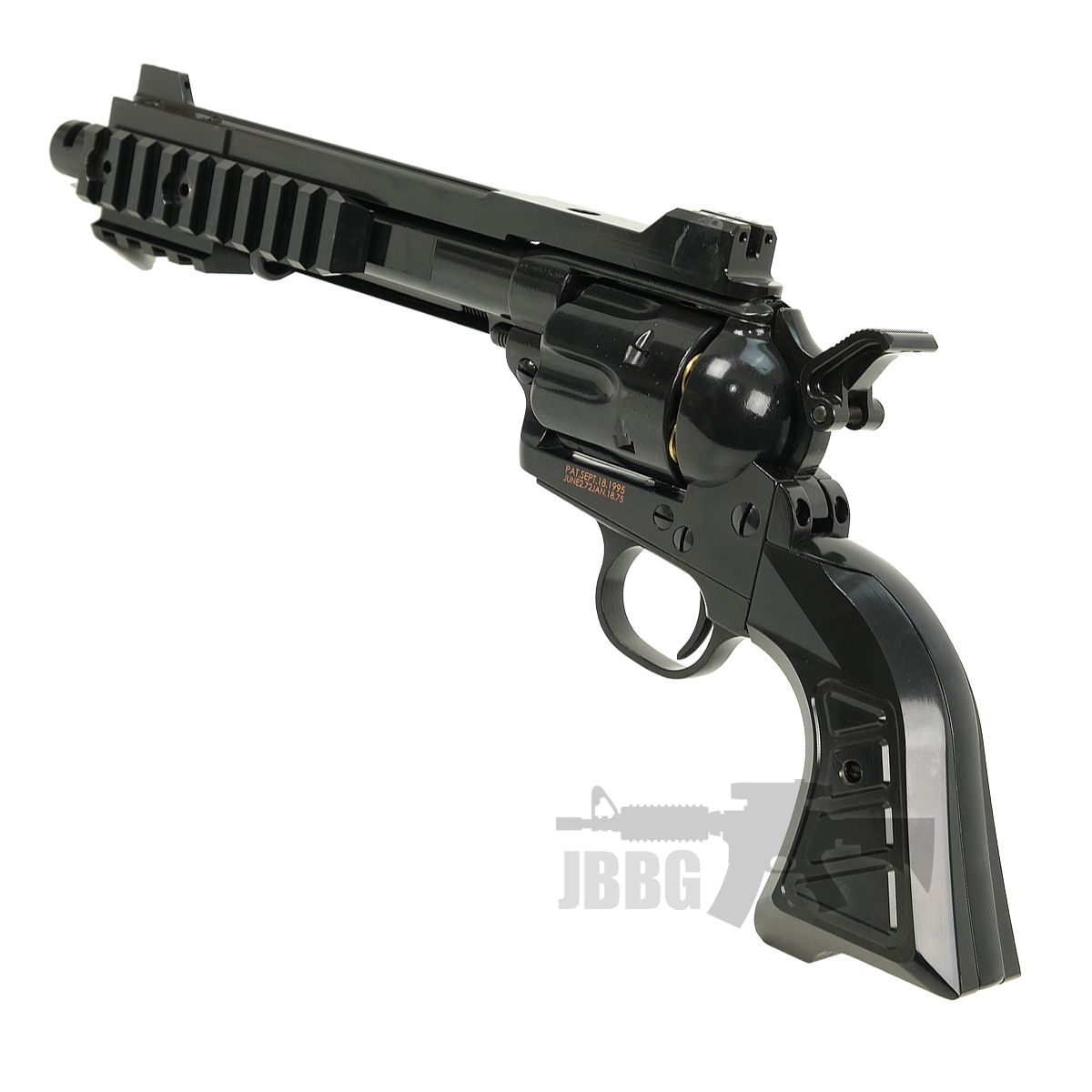 King Arms SAA 45 Devil Gas Airsoft Revolver 880