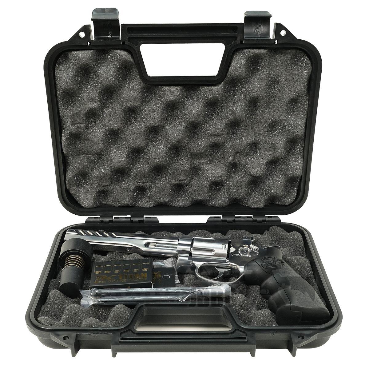 SRC 6 Inch Titan Platinum Ver CO2 Airsoft Revolver 2