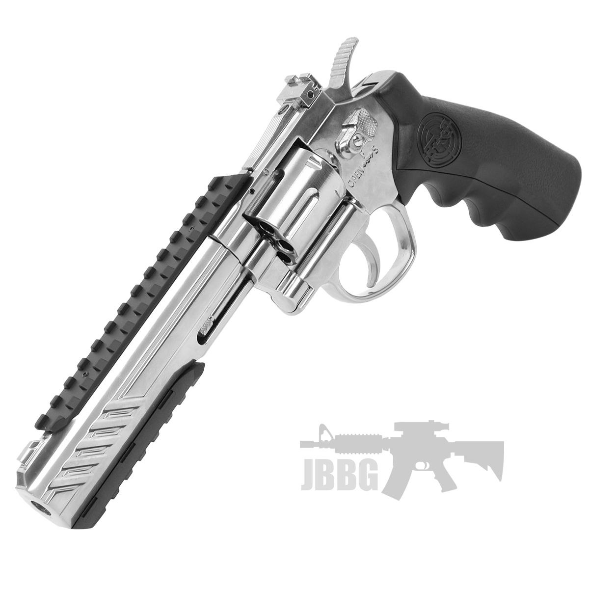 SRC 6 Inch Titan Platinum Ver CO2 Airsoft Revolver 6