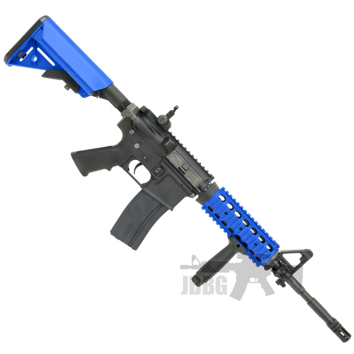 King Arms M4 RIS with Mosfet Advance blue