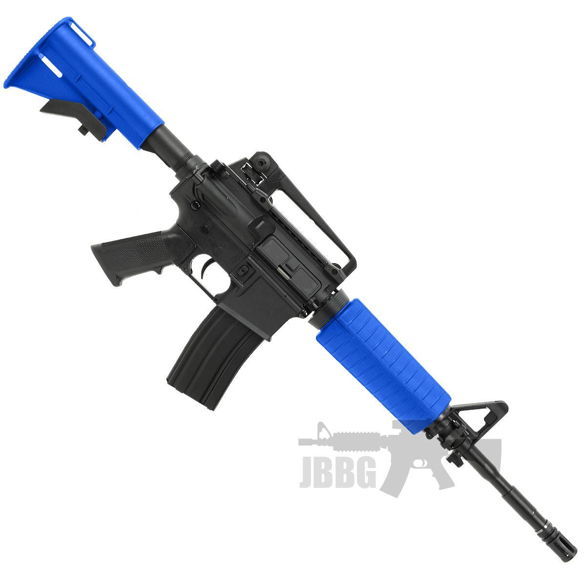 m4 carbine airsoft gun blue