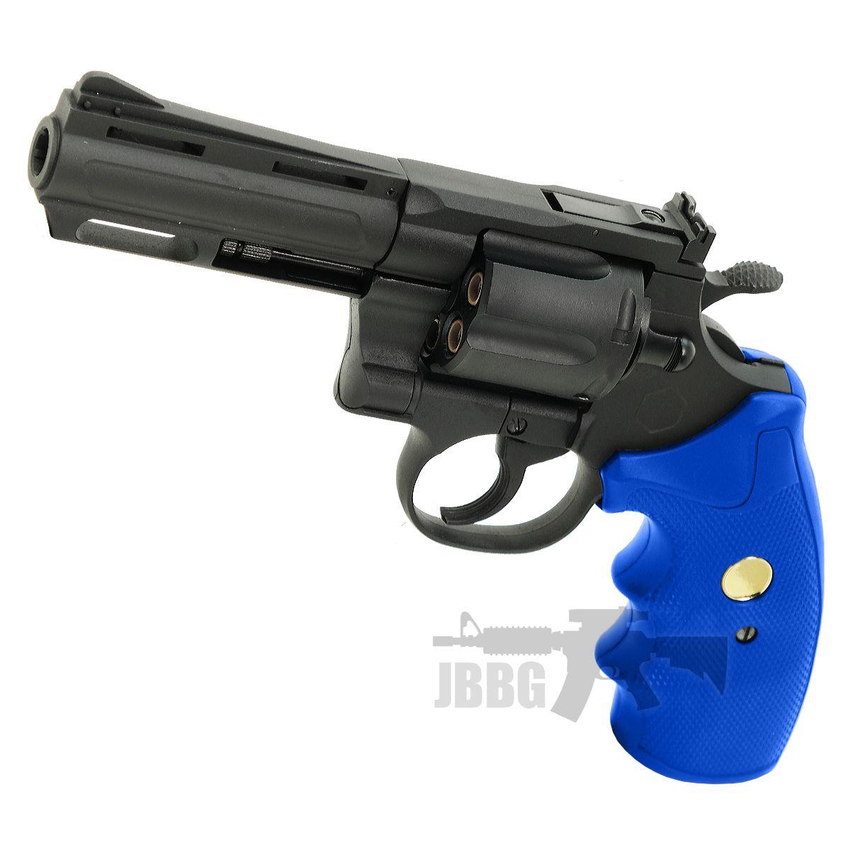 king arms revolver blue