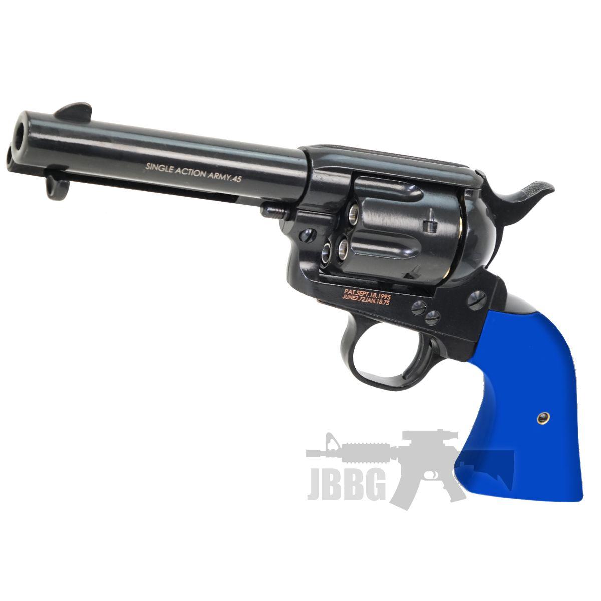 Peacemaker Revolver Blue